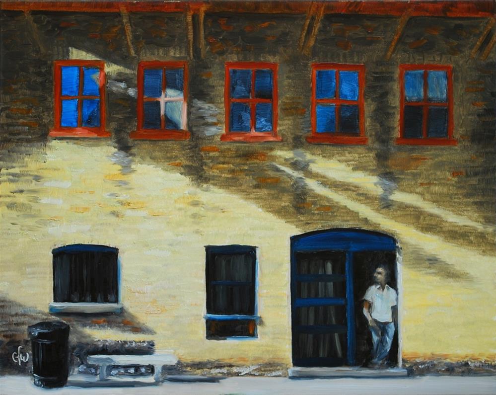 """""""Old York Street Kitchen"""" original fine art by Gary Westlake"""