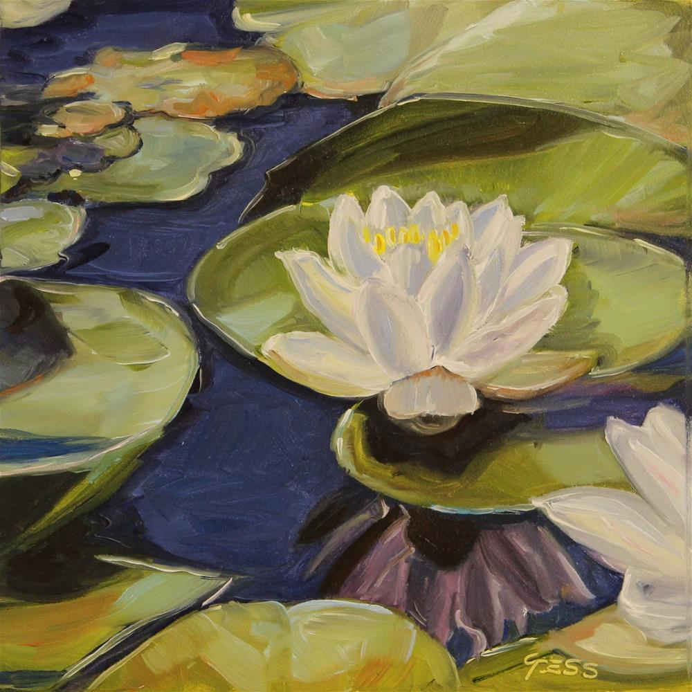 """""""Day 26- Lily Love- The Chieftains"""" original fine art by Tess Lehman"""