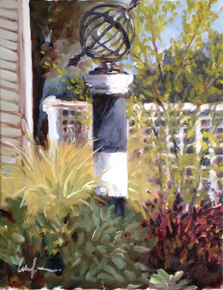 """Yard Art"" original fine art by Cornelis vanSpronsen"