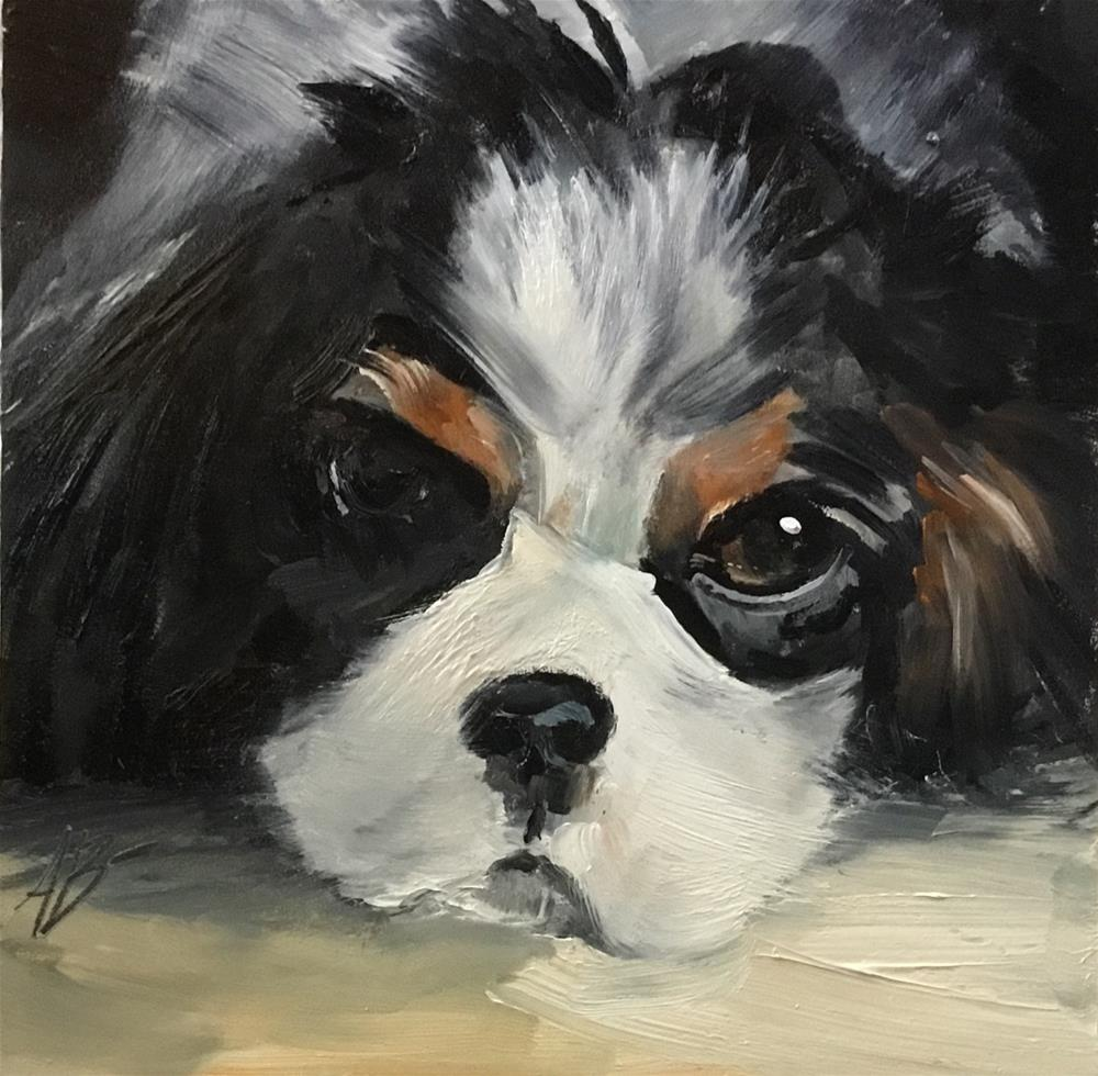 """Cavelier King Charles Breed"" original fine art by Annette Balesteri"