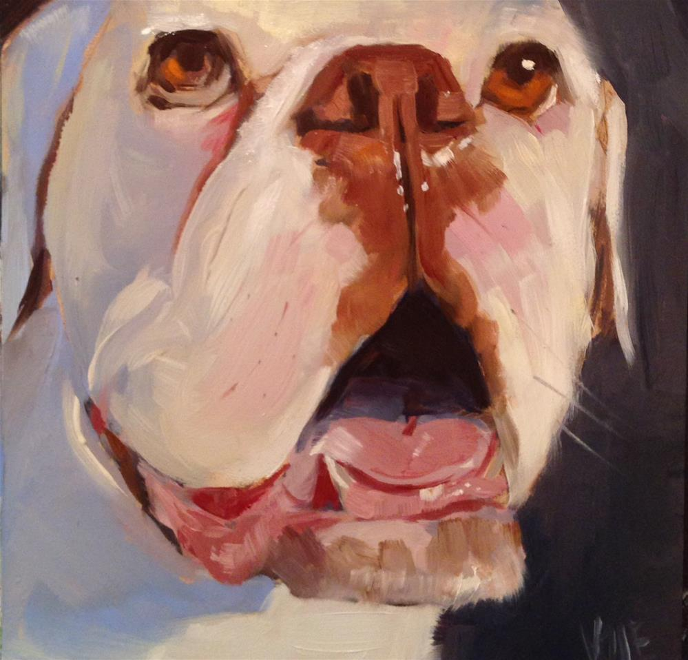 """#28 Big Fella"" original fine art by Patty Voje"