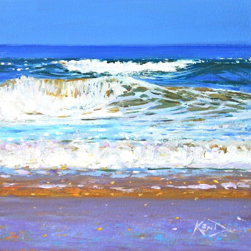 """Swell"" original fine art by Ken Devine"