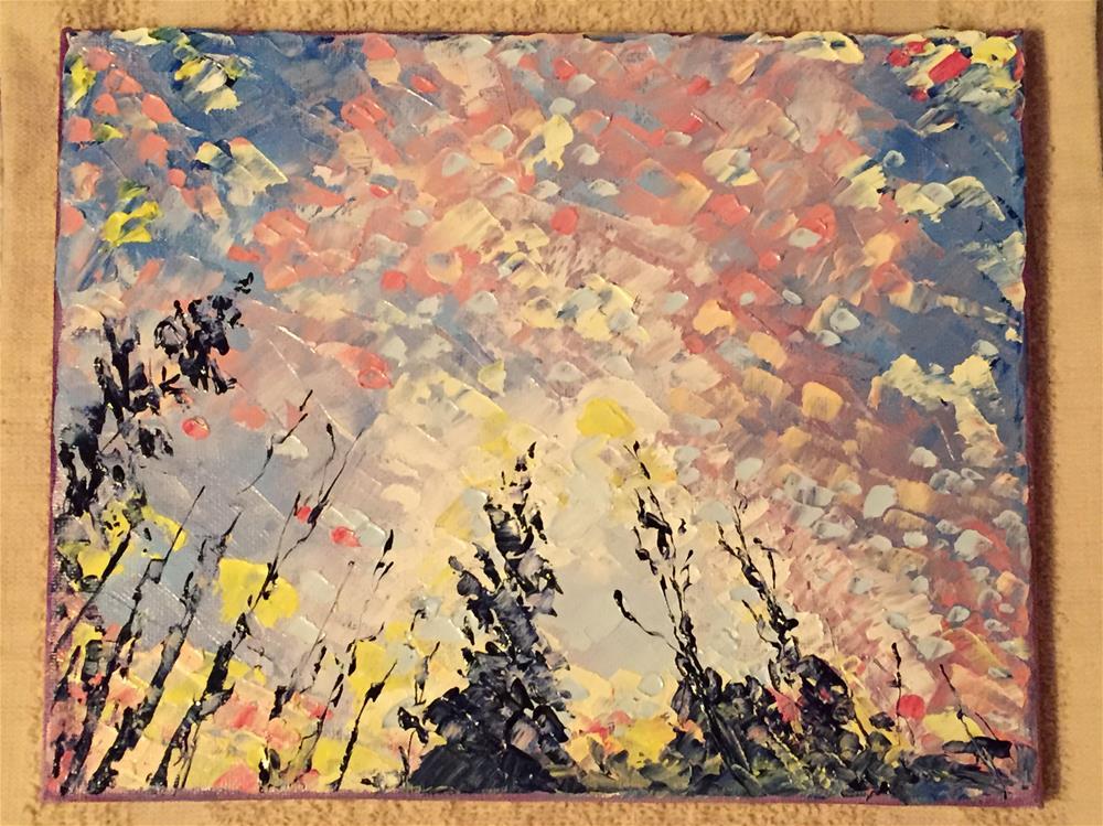 """Stargazing"" original fine art by Elizabeth Ann Stark"