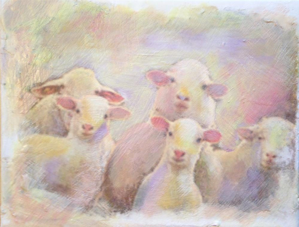 """Listen Up"" original fine art by barbara quast"