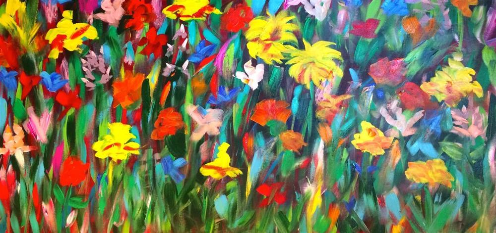 """Raising Wildness"" original fine art by Kimberly Balentine"
