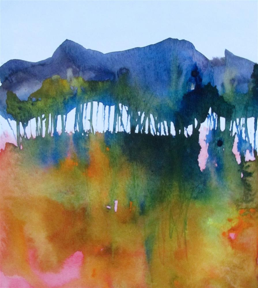 """In the Shade"" original fine art by Patricia MacDonald"