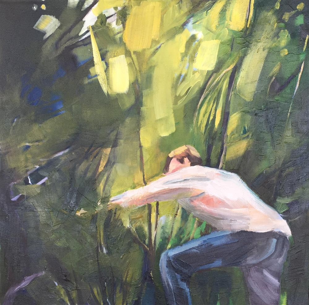 """Into the Woods"" original fine art by Jessie Dodington"