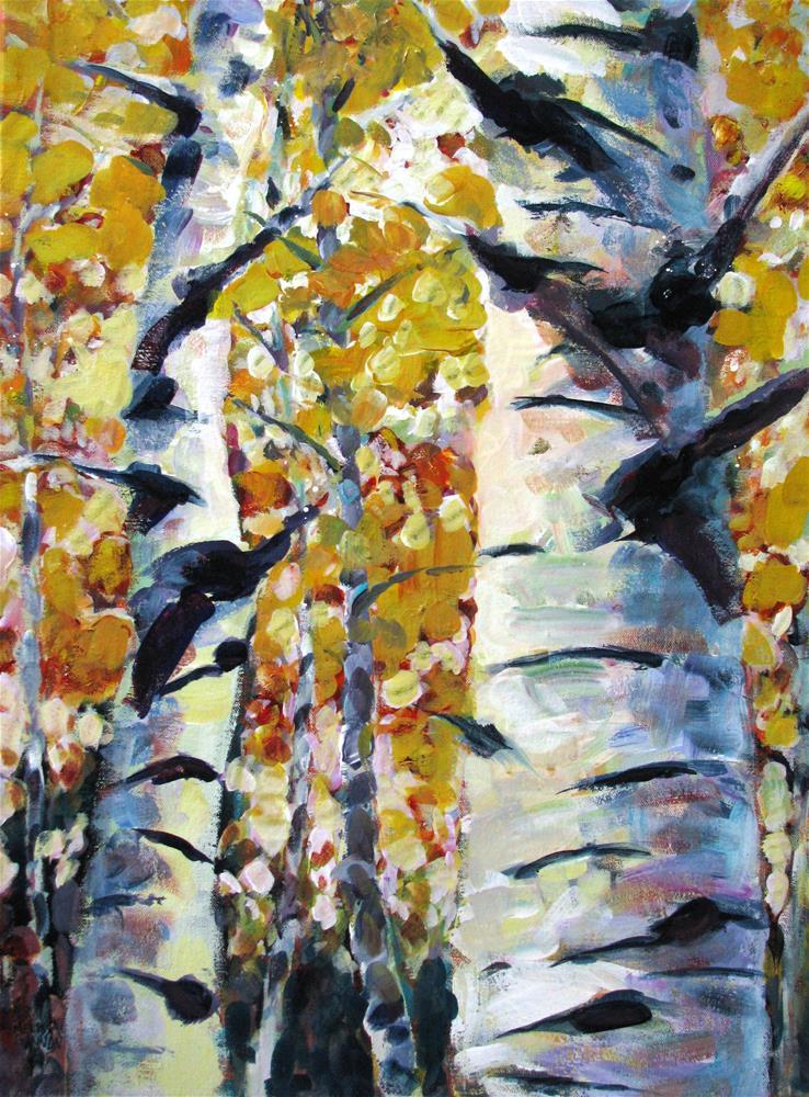 """Tree Magic"" original fine art by Melissa Gannon"
