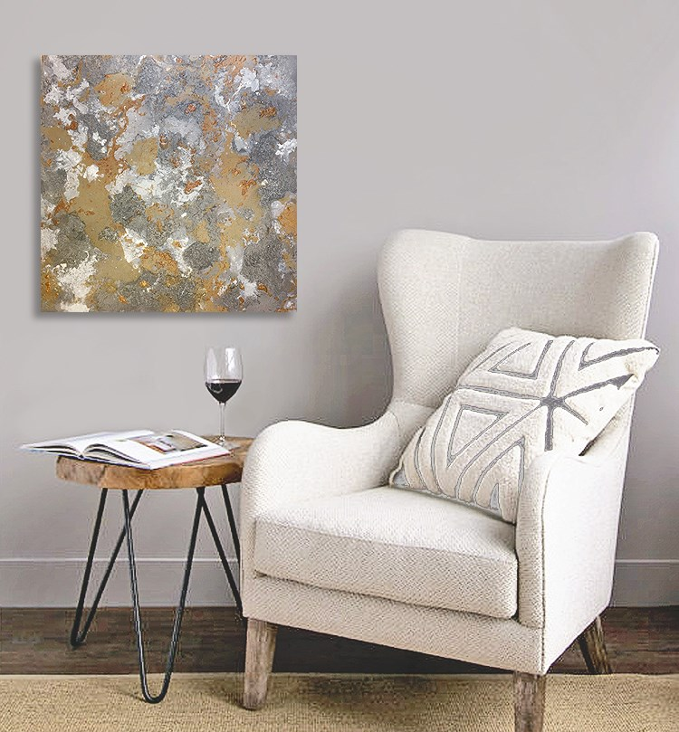 """Abstract #402"" original fine art by Sunny Avocado"