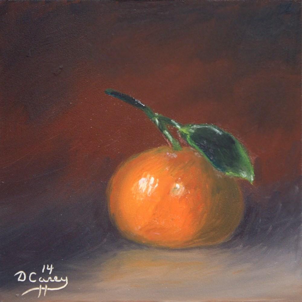"""""""Kitchen Painting - Tangerine 006"""" original fine art by Dave Casey"""