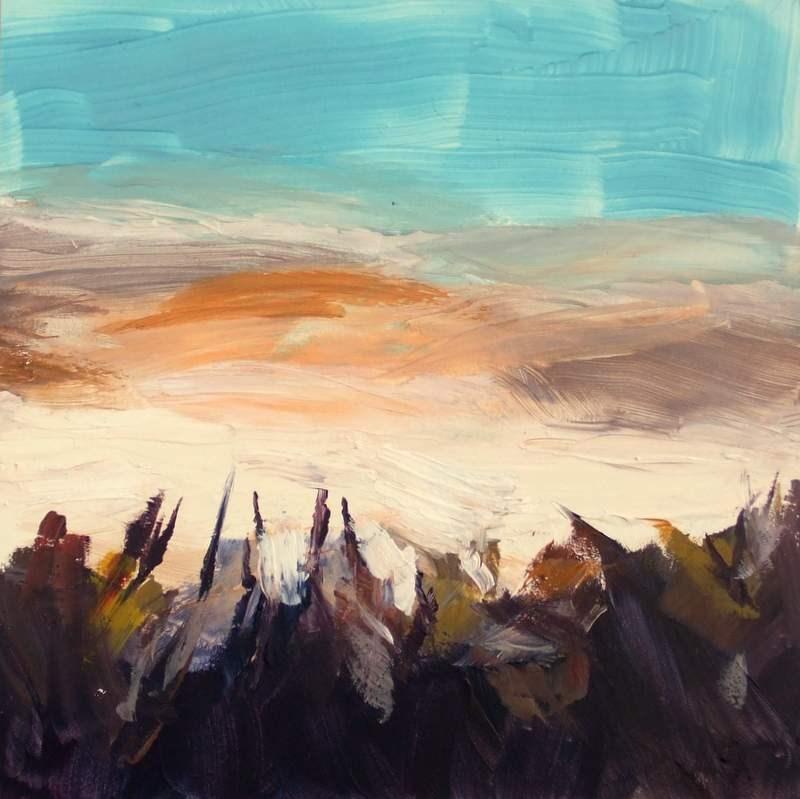 """Morning Mist"" original fine art by Meredith Adler"