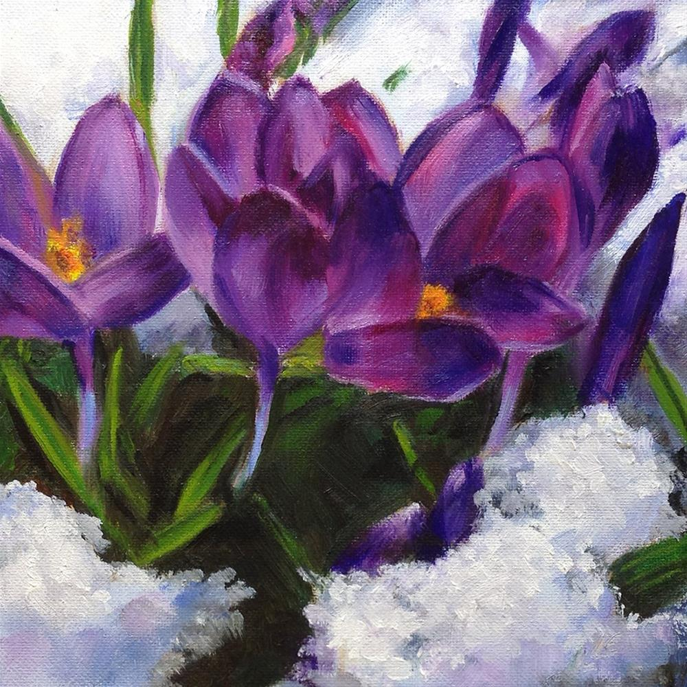 """Spring"" original fine art by Linda Lowery"