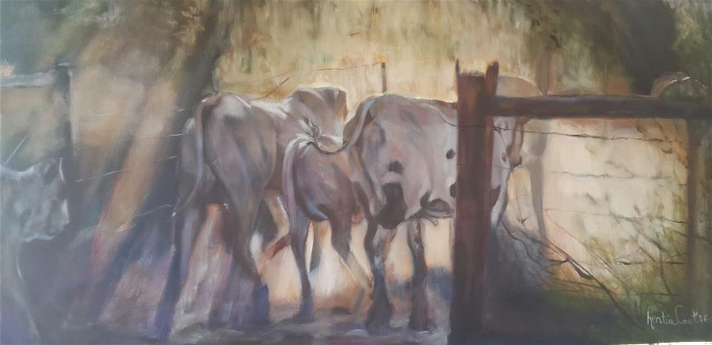 """Going home"" original fine art by Rentia Coetzee"