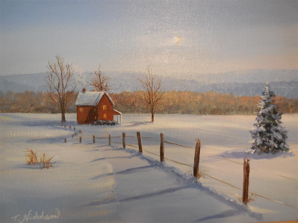 """Heading Home"" original fine art by Terri Nicholson"