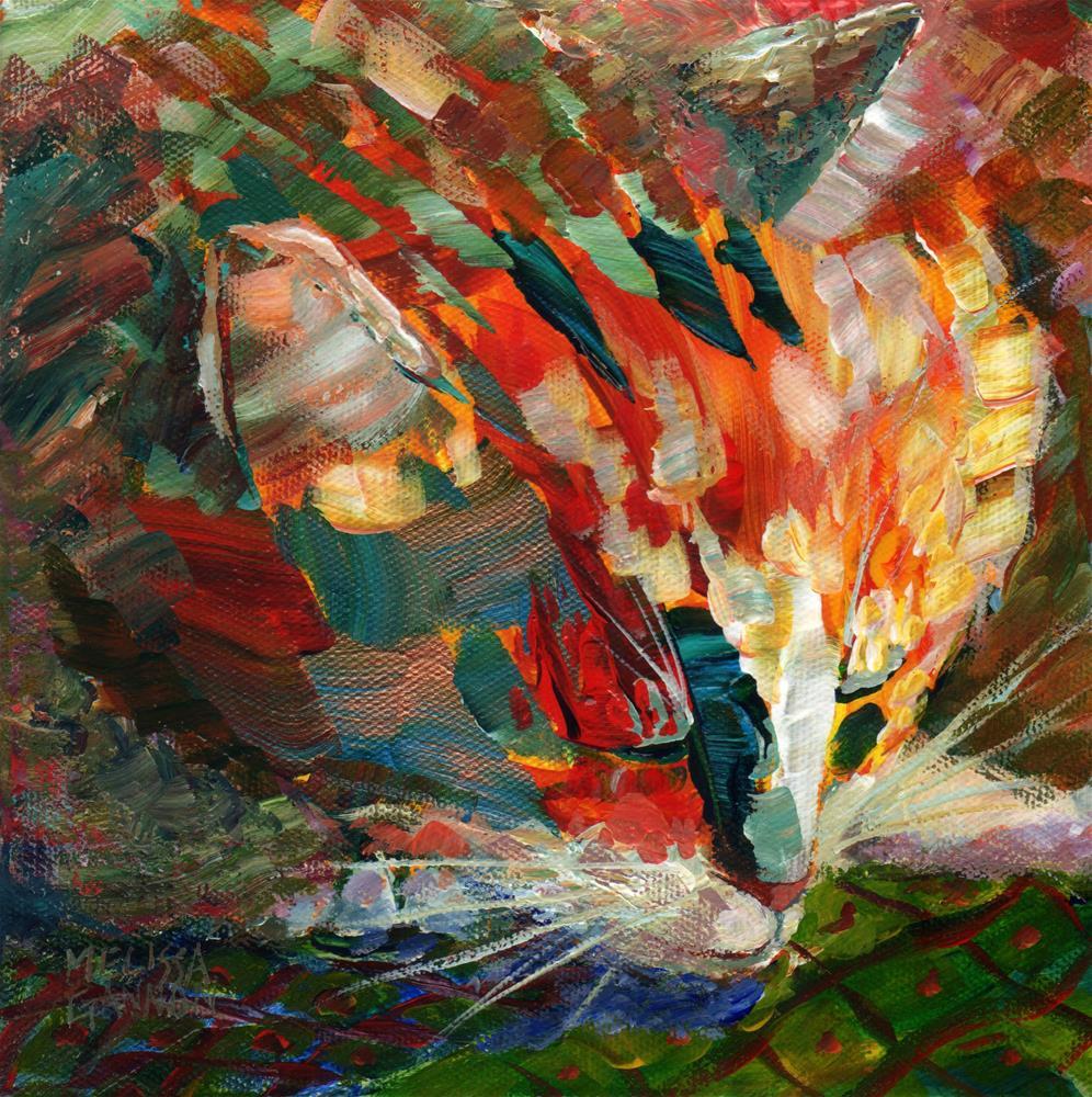 """Sleeping"" original fine art by Melissa Gannon"