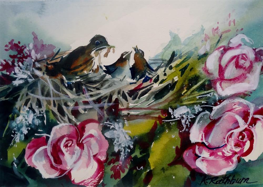 """""""untitled"""" original fine art by Kathy Los-Rathburn"""