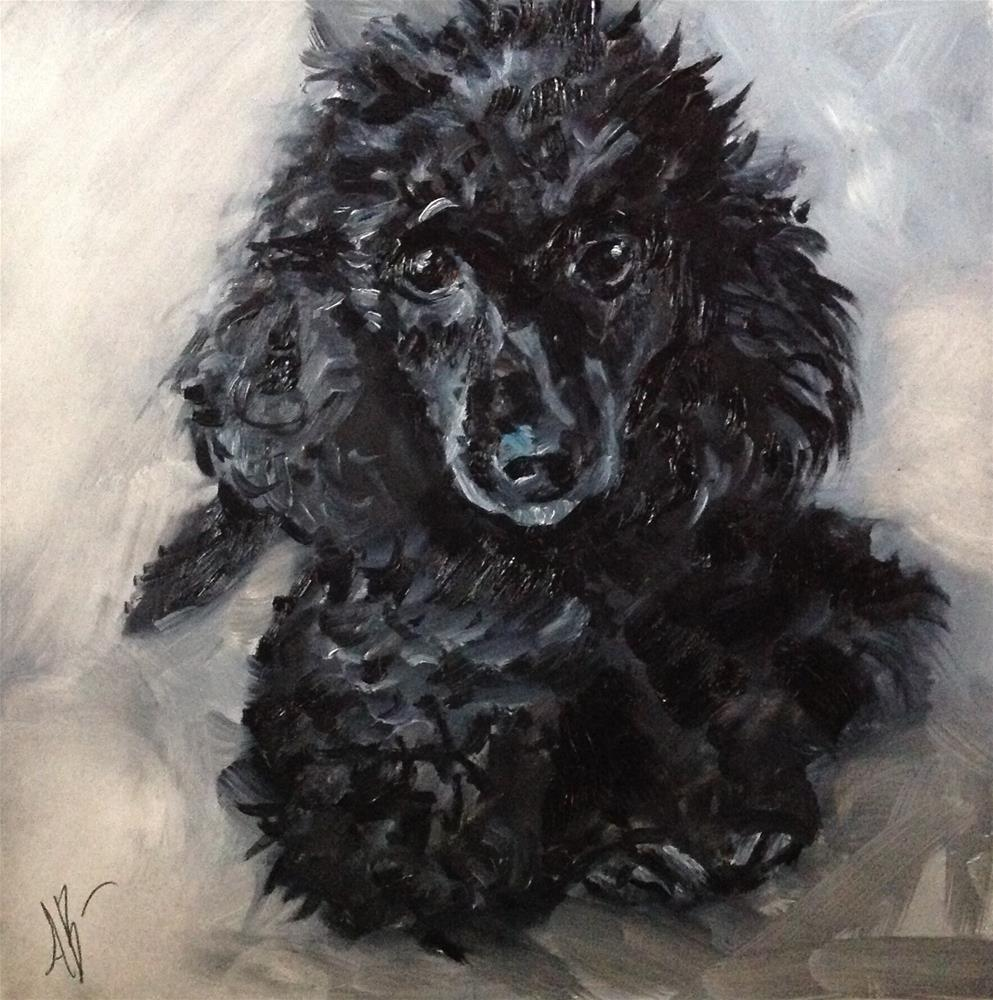 """Portrait of Gypsy"" original fine art by Annette Balesteri"