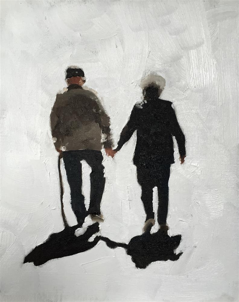 """""""Together Forever"""" original fine art by James Coates"""