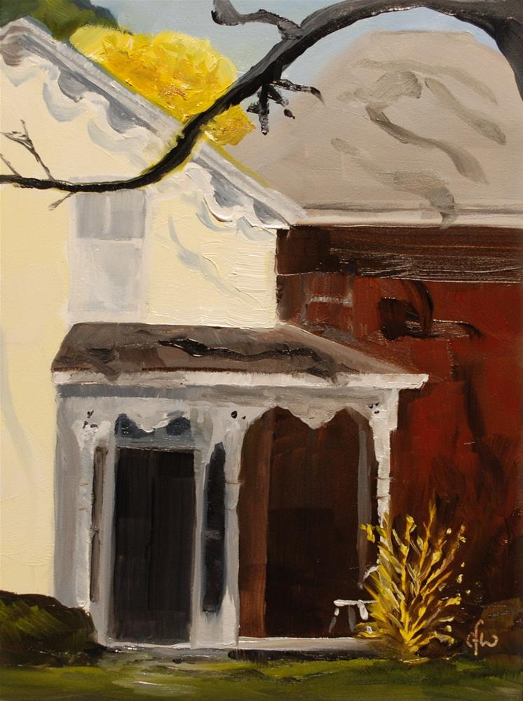"""Yellow House"" original fine art by Gary Westlake"