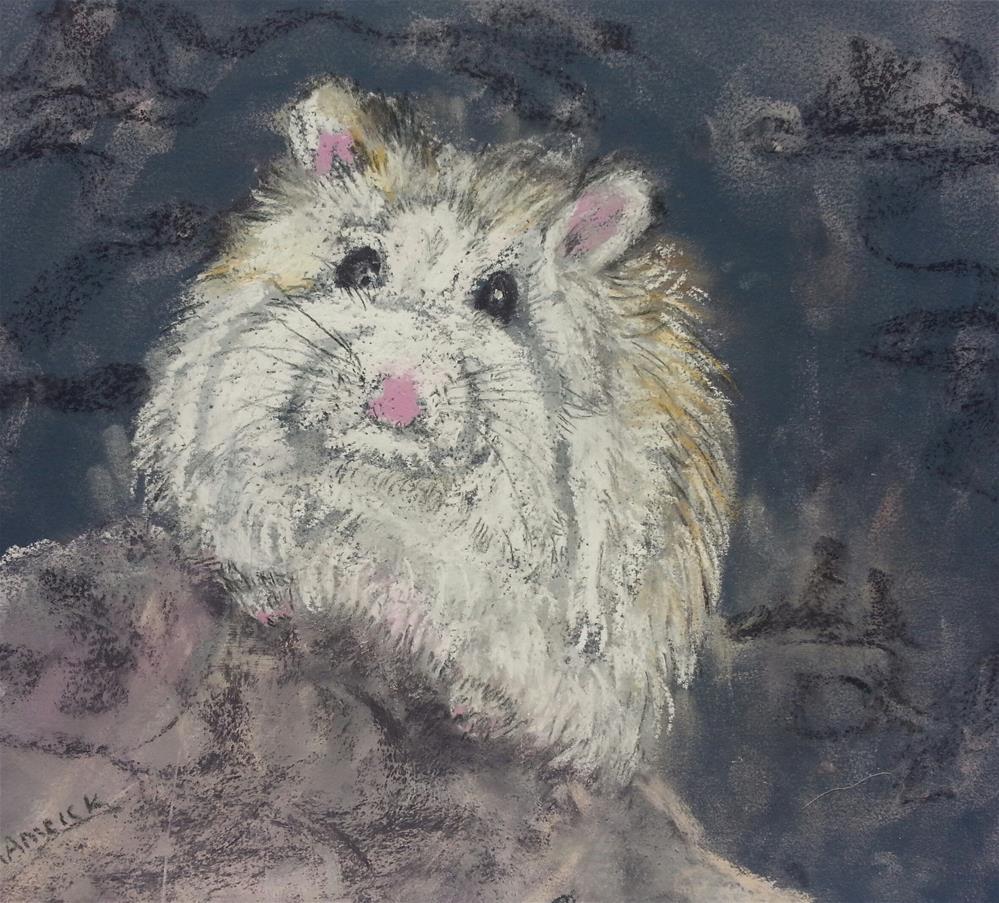 """Little Hammy"" original fine art by Phyllisha Hamrick"