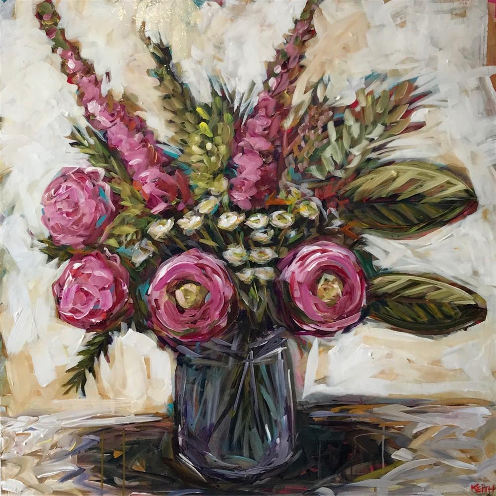 """Fleurs de Mai"" original fine art by Kandice Keith"