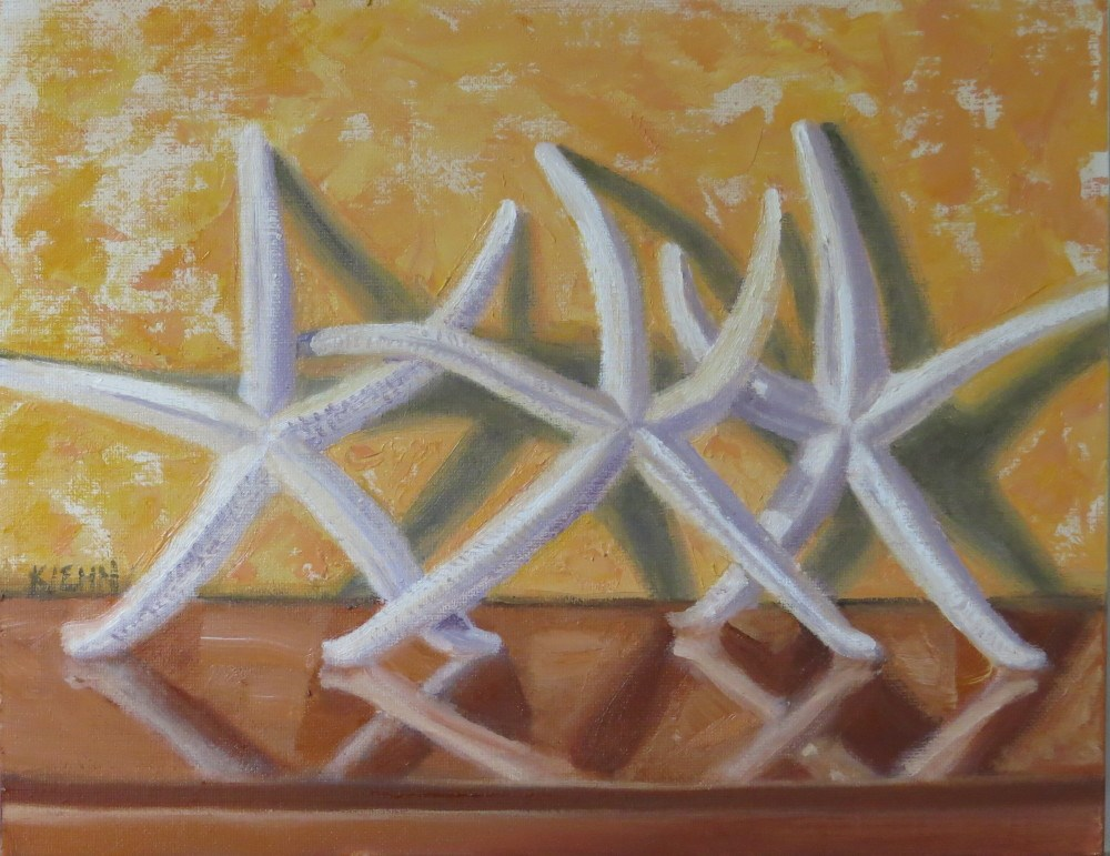 """Mexican Stars"" original fine art by Richard Kiehn"