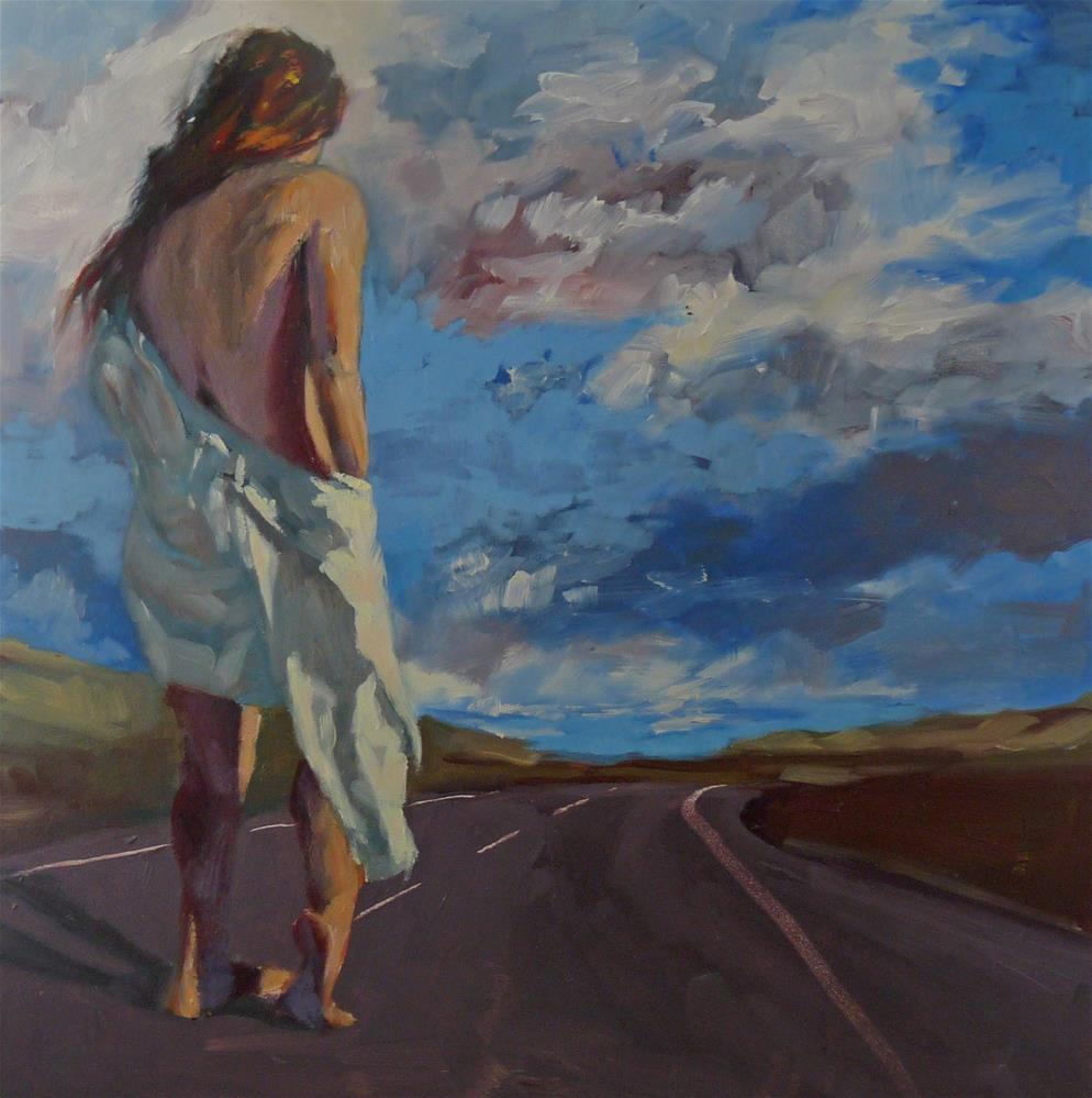 """Know Your Path"" original fine art by Sharman Owings"