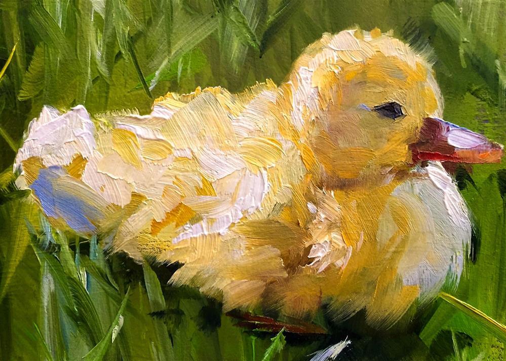 """Duckling"" original fine art by Gary Bruton"
