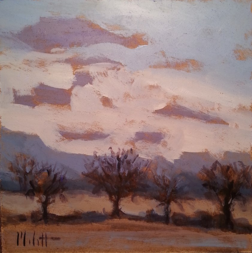 """Early Light Morning Landscape Original Oil Painting"" original fine art by Heidi Malott"