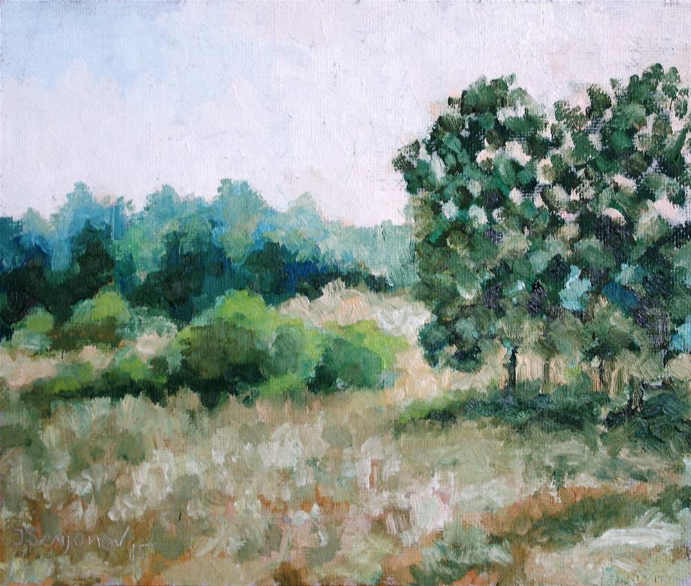 """""""early summer evening"""" original fine art by Juri Semjonov"""