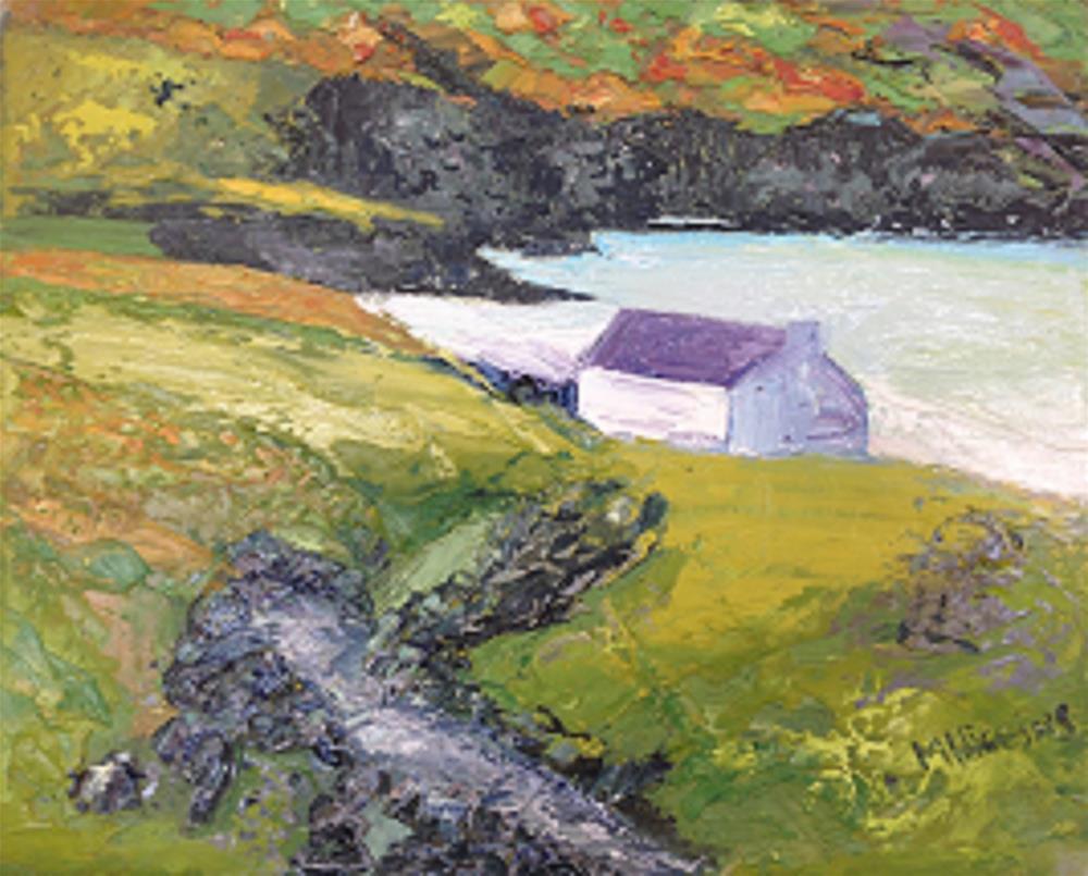 """Keem Bay. Achill"" original fine art by Marie O' Higgins"
