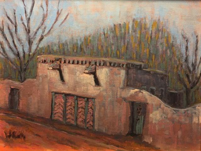 """Santa Fe"" original fine art by William Cook"