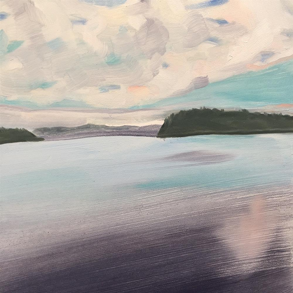 """149 Pacific NW"" original fine art by Jenny Doh"