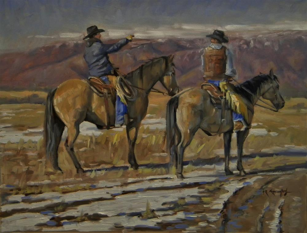 """Pointing the Way"" original fine art by Rick Kennington"