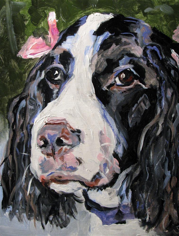 """Abby"" original fine art by Susan Elizabeth Jones"