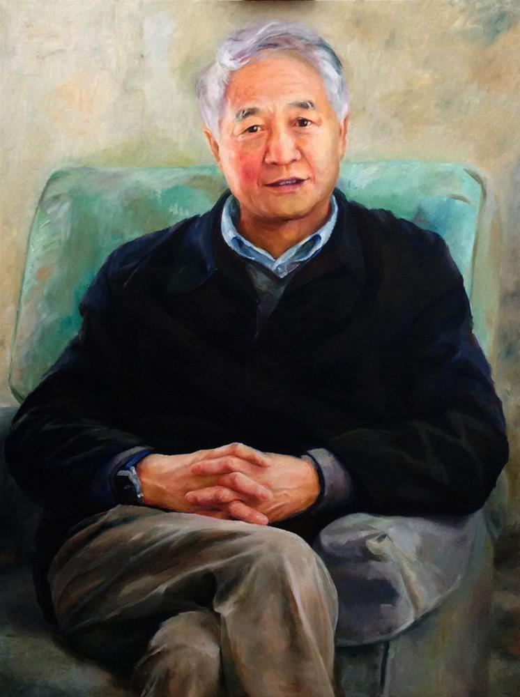 """Portrait"" original fine art by Joy Cai"