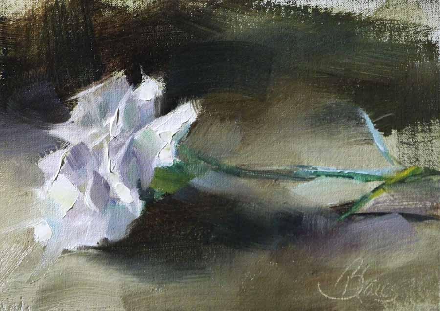"""""""Good Luck"""" original fine art by Pamela Blaies"""