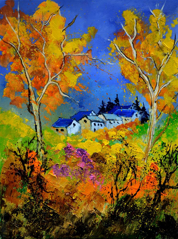 """autumn 455130"" original fine art by Pol Ledent"