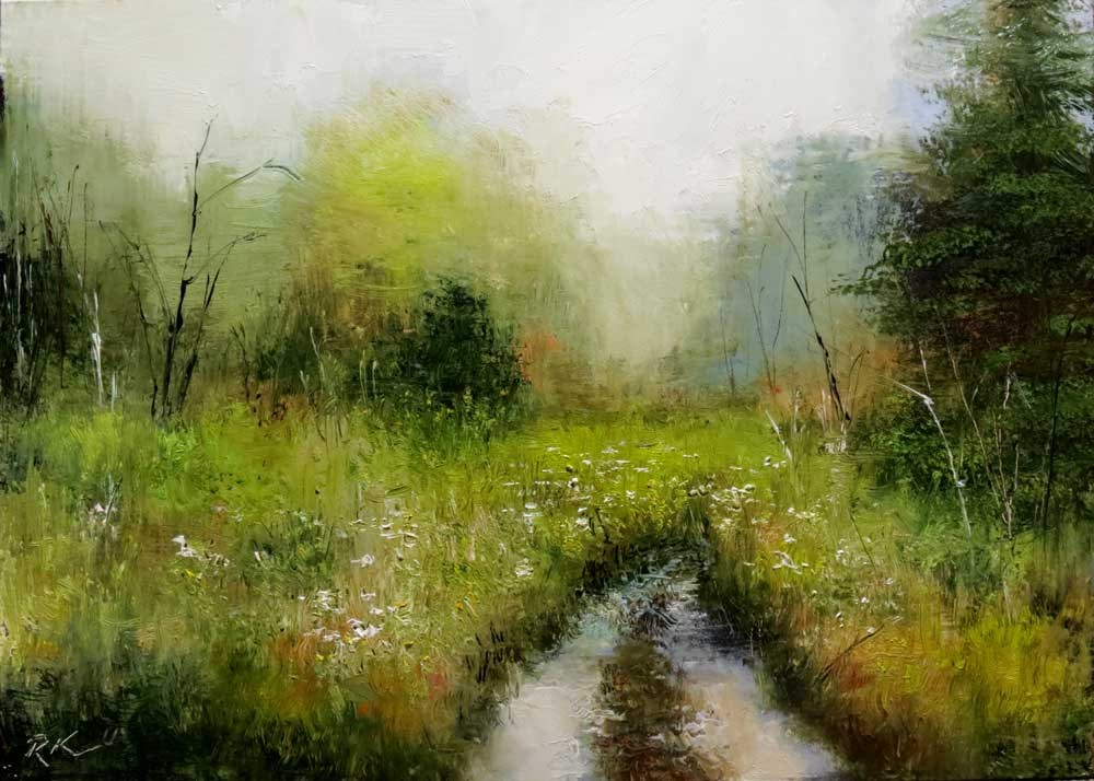 """The Overgrown Road"" original fine art by Bob Kimball"