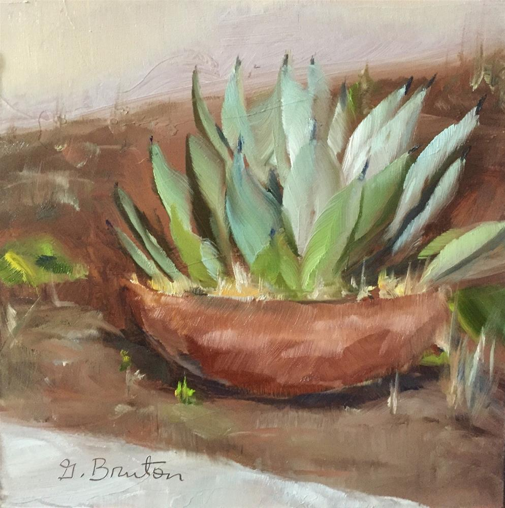 """Agave"" original fine art by Gary Bruton"