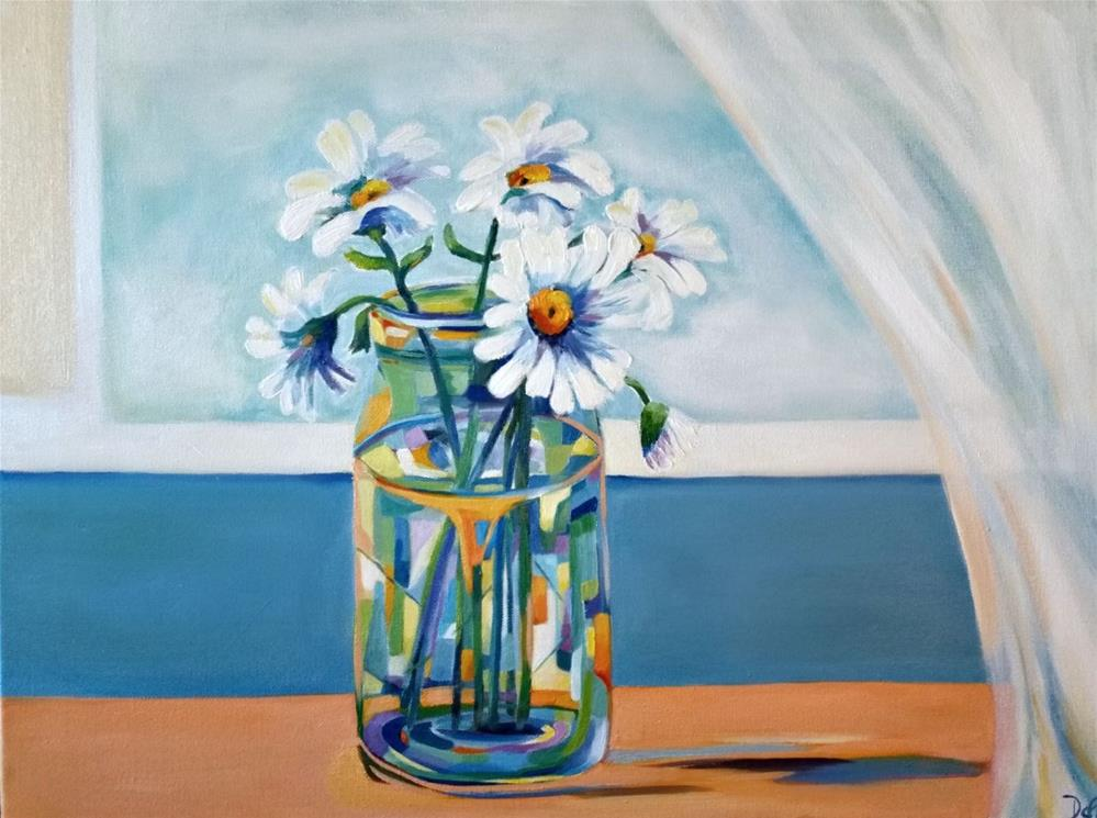 """Daisy Breeze"" original fine art by Dana C"