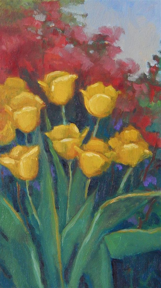 """Spring Fling"" original fine art by Lisa Kyle"