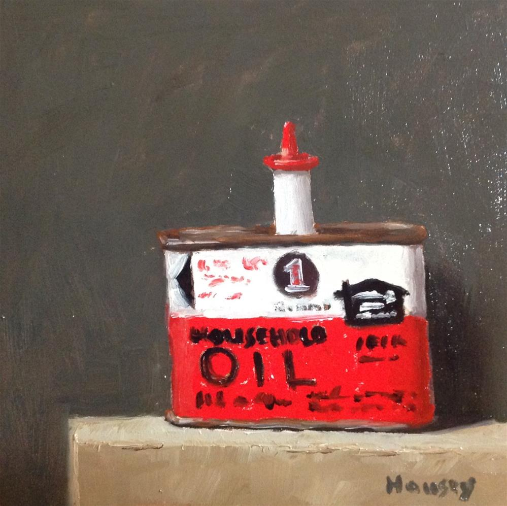 """Household Oil"" original fine art by Bruce Housey"