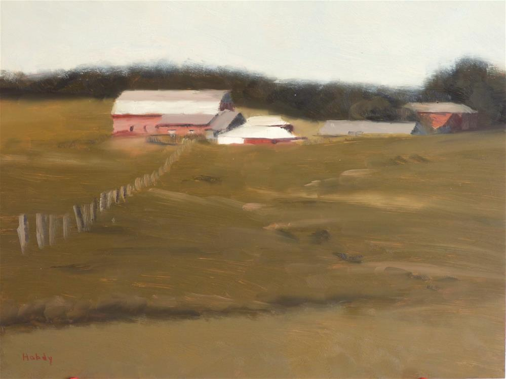"""Juntunen's Farm 2"" original fine art by Weston Hobdy"