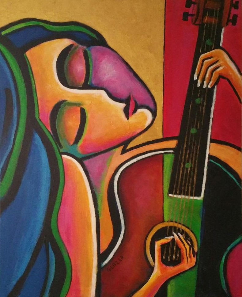 """A Song For My Love"" original fine art by Stuart Glazer"