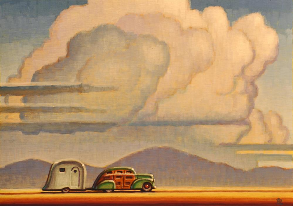 """Storm Clouds"" original fine art by Robert LaDuke"