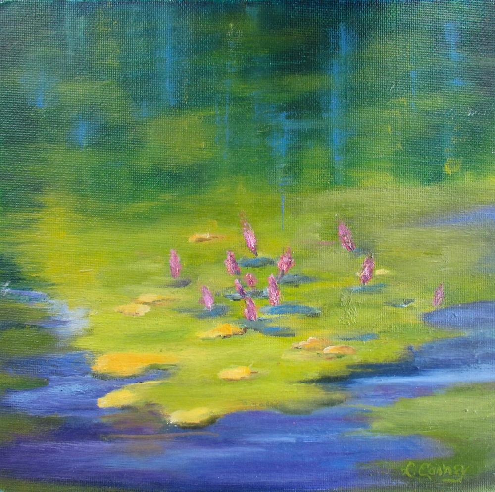 """Reflections"" original fine art by Linda Carney"