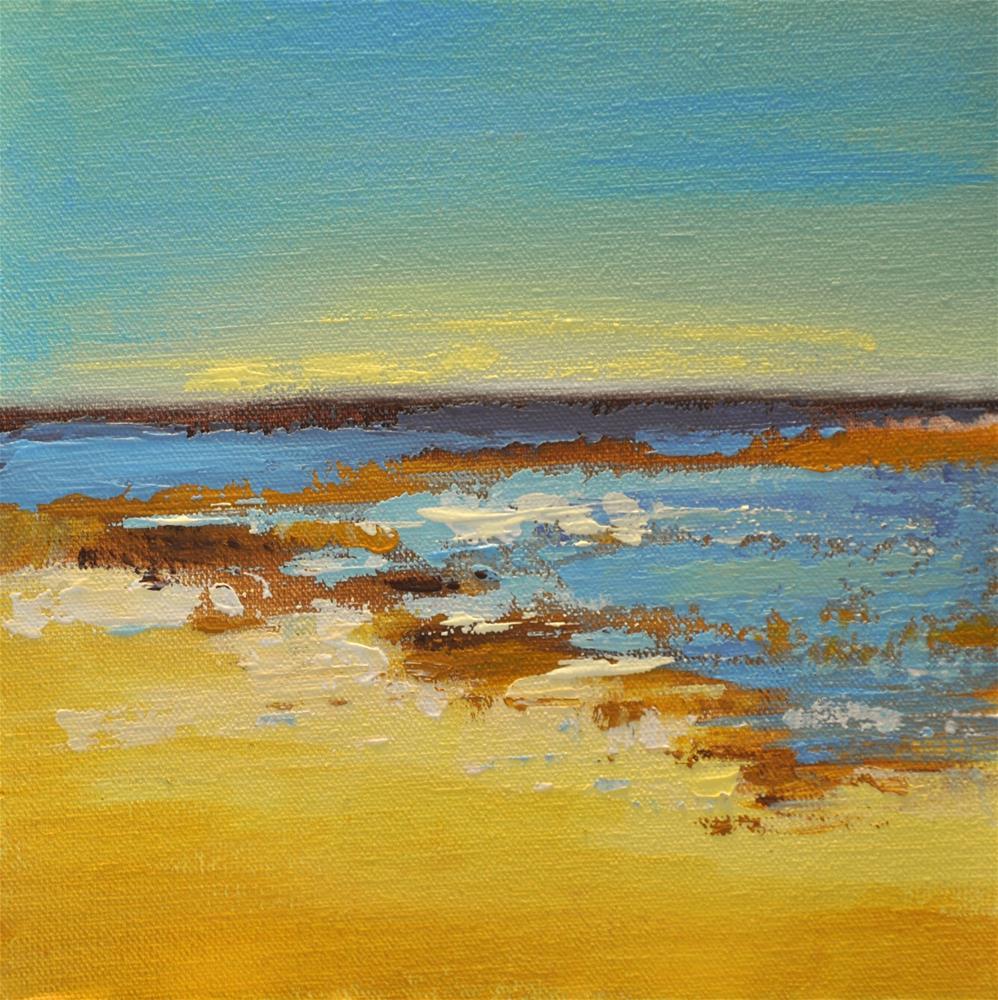 """Landscape 162"" original fine art by Ewa Kunicka"