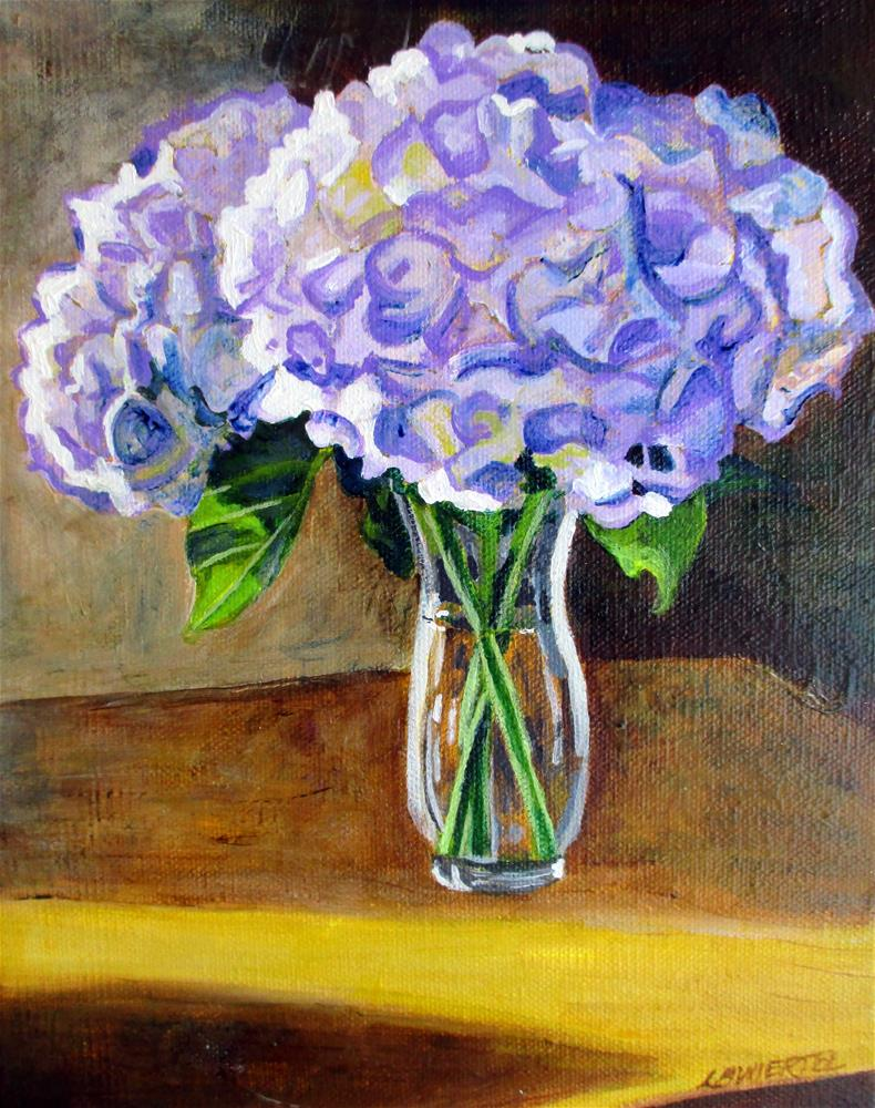 """Sam's Flowers"" original fine art by Lisa Wiertel"