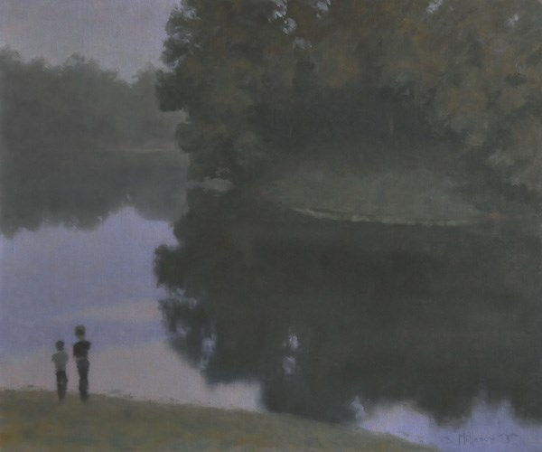"""""""My Brother's Keeper"""" original fine art by Susan Matteson"""